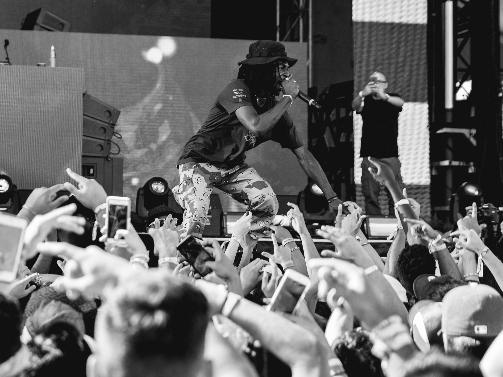 Jazz Cartier @ FVDED. 2016.