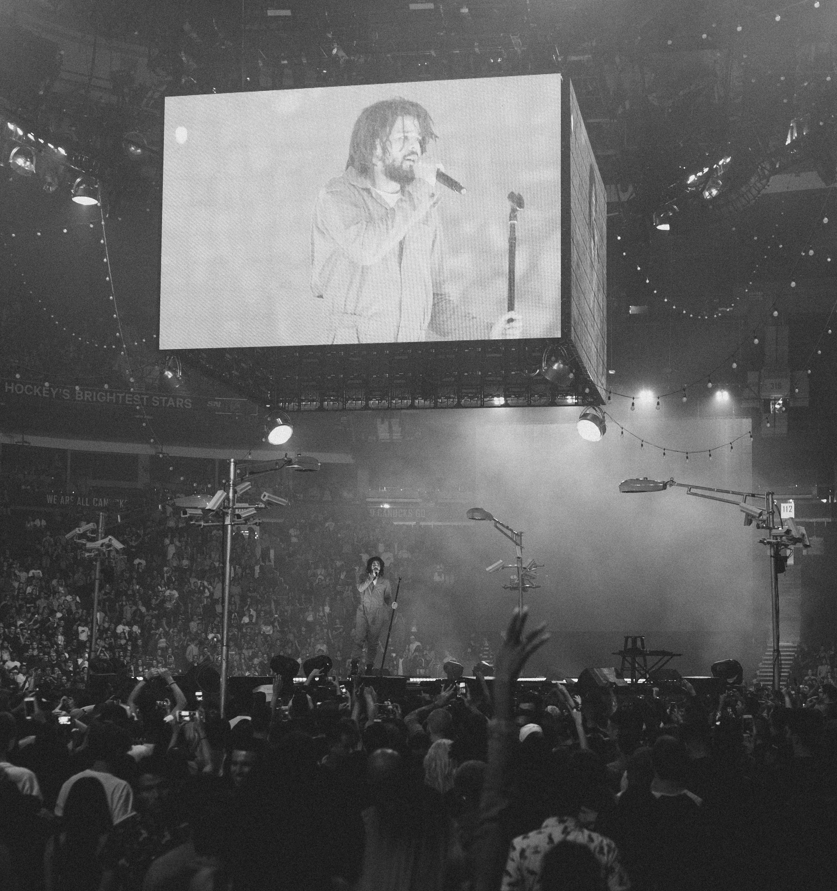 J Cole @ Rogers Arena. 2017