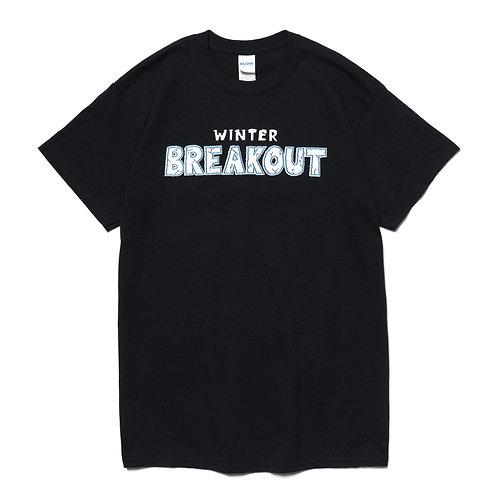 Winter BREAKOUT Lineup T-Shirt - Black