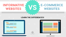 INFORMATIVE WEBSITES VS E-COMMERCE WEBSITES