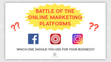 BATTLE OF THE ONLINE MARKETING PLATFORMS