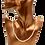 """Thumbnail: שרשרת פנינים אמיתיות לבנות 3-4 מ""""מ"""