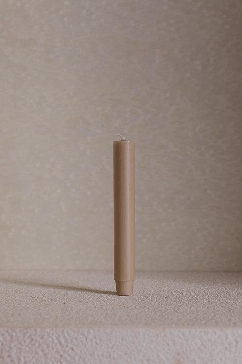 ŚWIECA STOŁOWA KREM 18,5cm