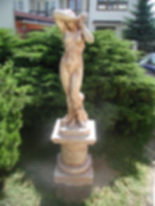 Balustrády Praha - sochy z umělého kmene