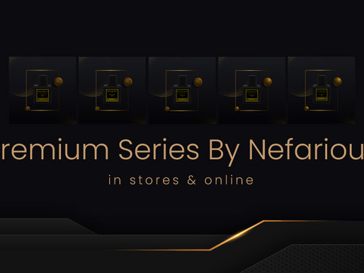 Premium Series perfumes by Nefarious