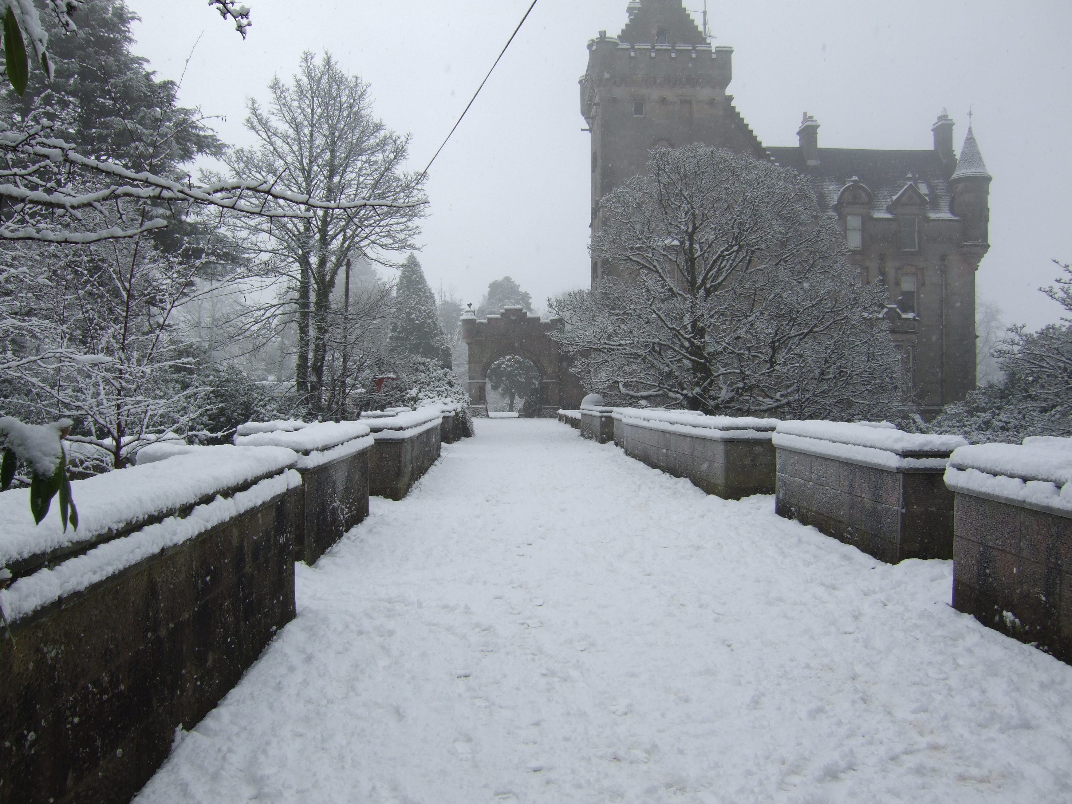 Overtoun Bridge Winter