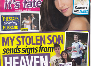 Doggone Strange: Why do dogs leap from Overtoun Bridge Article. Chat It's Fate Magazine August 2