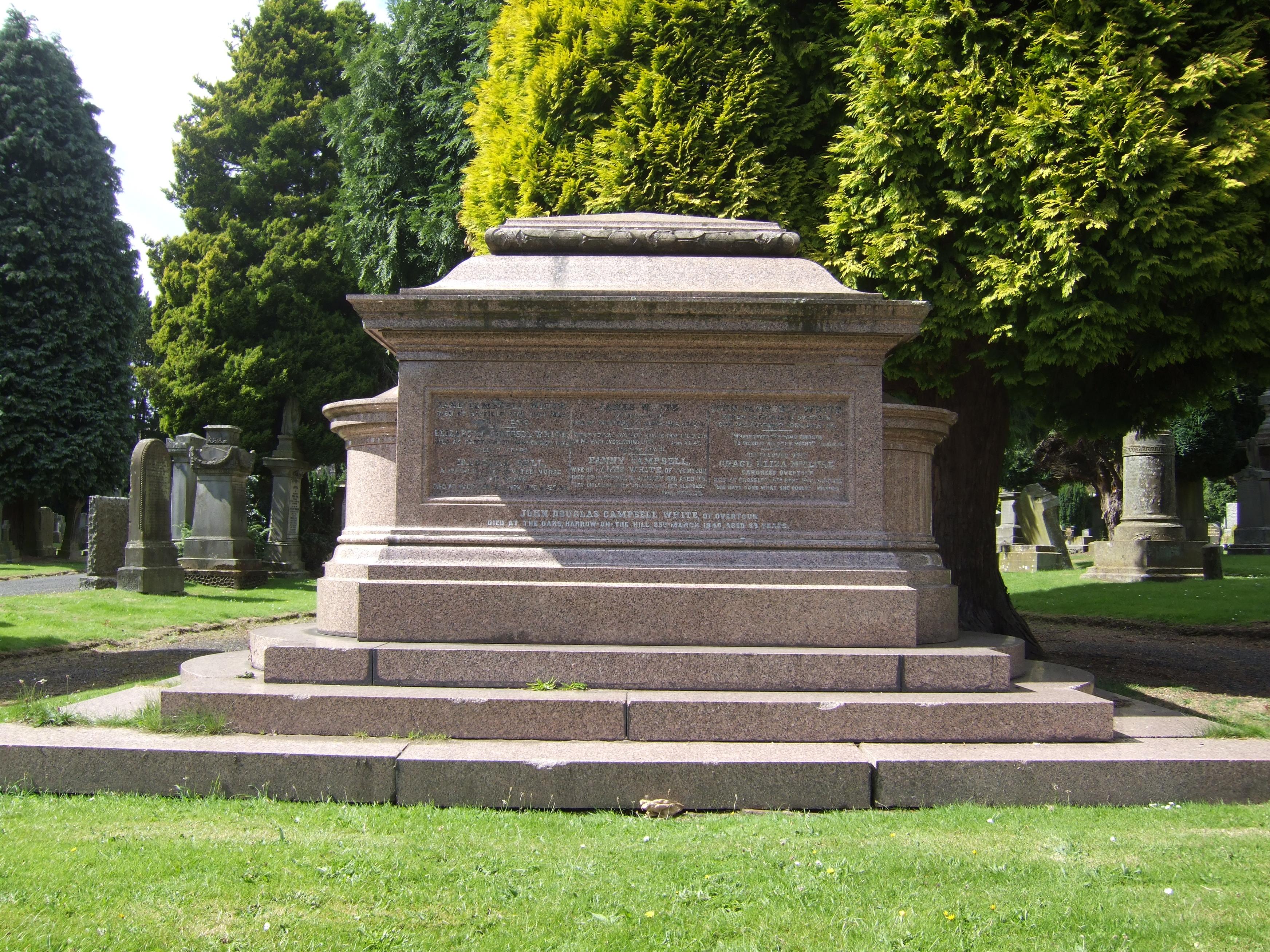 Baron Overtoun's Grave