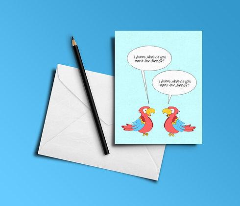 Card | Parrots
