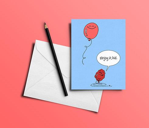 Card | Balloon