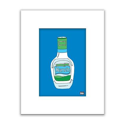Framed Color Print | Ranch