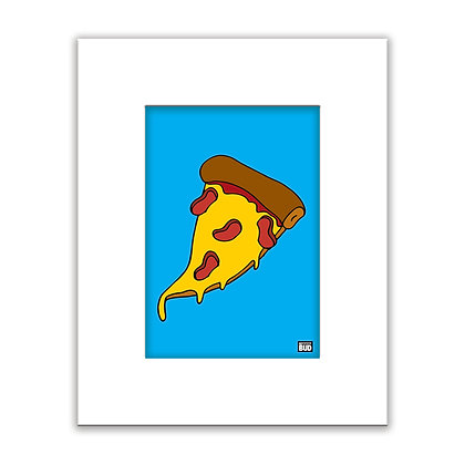 Color Print | Pizza
