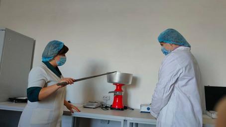 Лабораторне заняття з дисципліни «Технологія переробки продукції тваринництва з основами виробничої