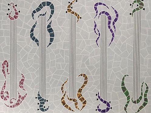 Five Guitars