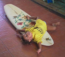 surfboard for baby Custom monkey wrench surfboard from pedro's surf shop and school in tamarindo costa rica