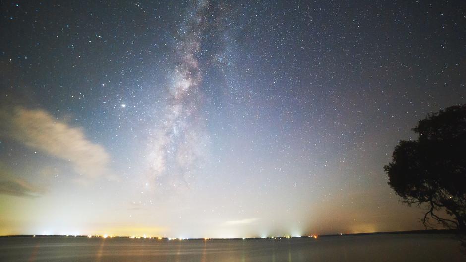 Night Skies Over Lake Whitney