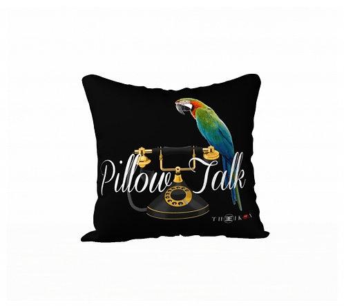 18 x 18 Pillow Talk Pillow Cover