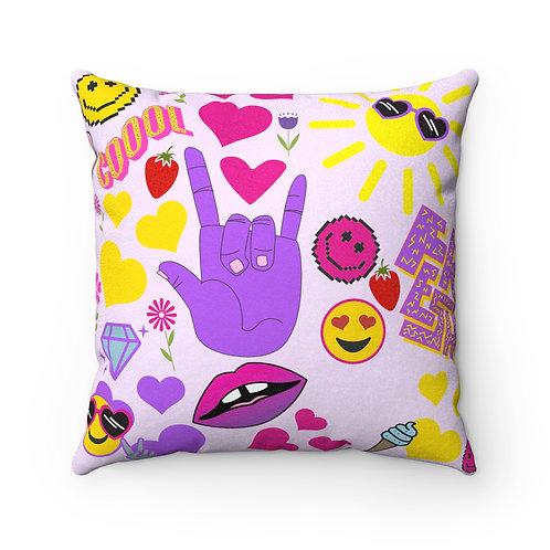 "Young Eikon ""Emoji"" Pillow"