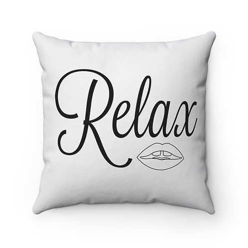 Relax/Chill Vibes Double-sided Pillow