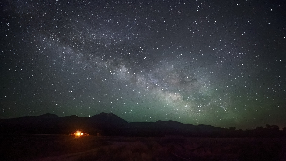 Majestic Milky Way and the Night Sky