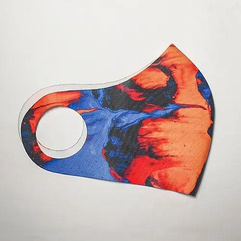 Máscara Projeto Neon 1 - Neoprene @Mavolleoficial