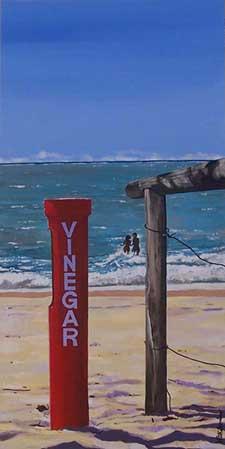 Perilous Paradise- Vinegar Stop. Acrylic on Canvas 60.9x121.8 cms.jpg