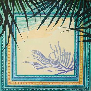 Oceanic Palm Shadow  2 61x61 .jpg