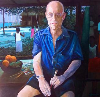 'Crookes' Fiji'  Ray Crooke Portrait 2008.jpg