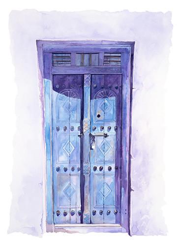 Blue Gulf Door