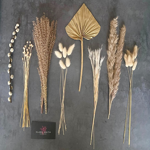 Natural Dried Letterbox Flowers