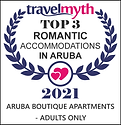 travel myth award aruba romantic accomodations