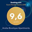 Booking.com award 9.6