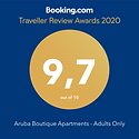 Booking.com award 2020 9.7