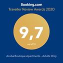 Booking.com award 9.7