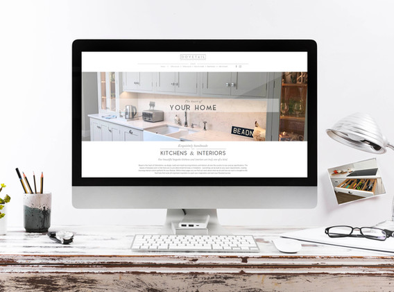 Dovetail Kitchens & Interiors Web Design