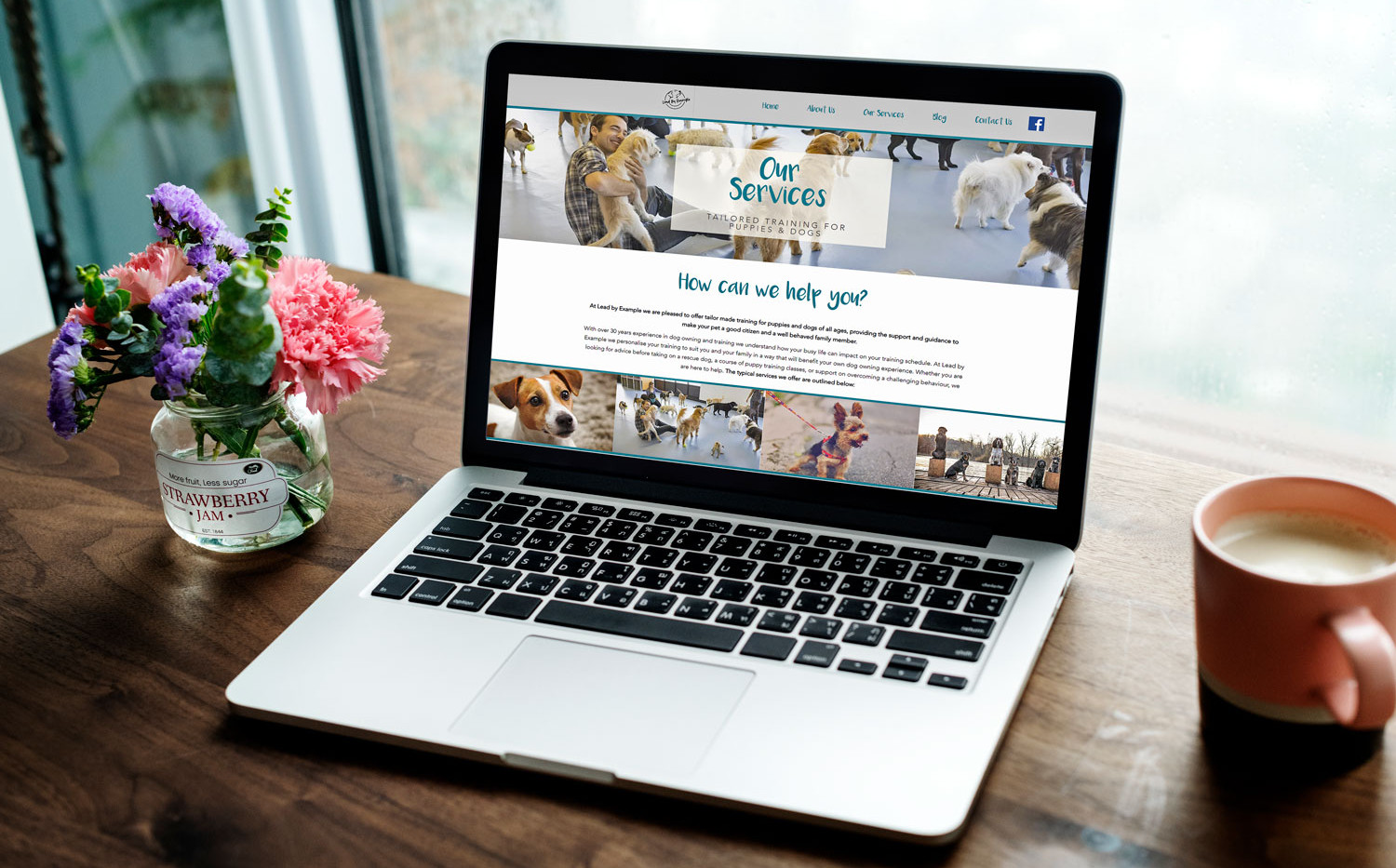 Lead by Example Dog Training Website