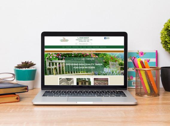 Norman Cox & Partners Website Design