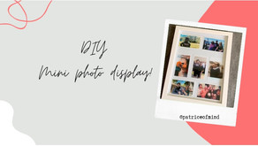DIY: Mini-Photo Display