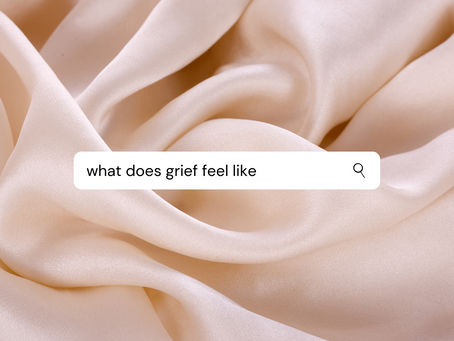 My Grief Journey: Part 1