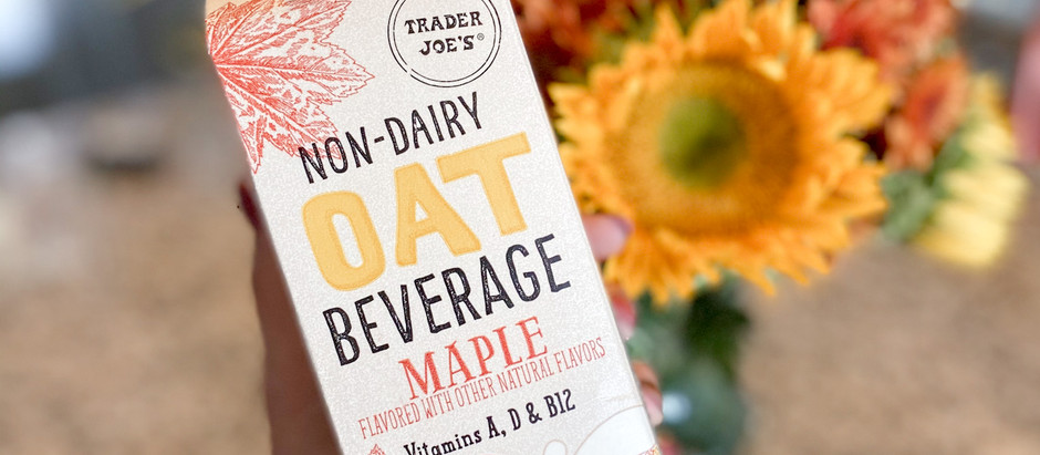 Trader Joe's Maple Oat Beverage Review