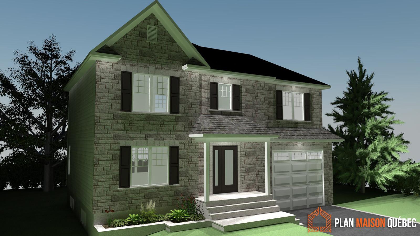 Plan maison qu bec plan de construction partout au qu bec for Extension maison quebec