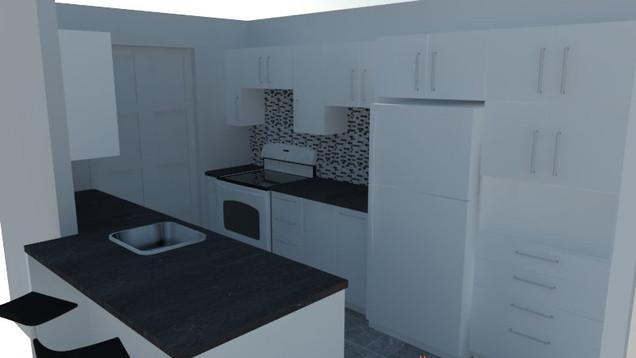 Plan Maison Québec -Design de cuisine - Québec