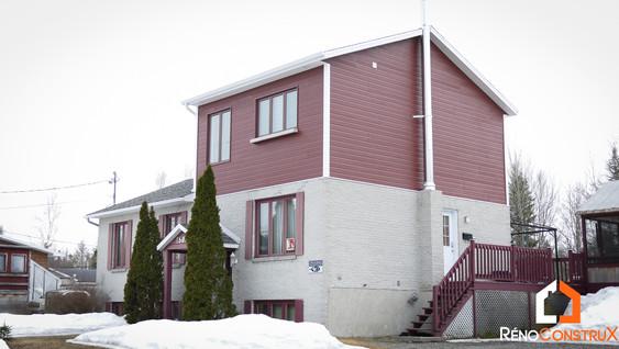 Ajout d'un étage à une maison - Ville de Québec
