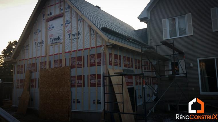 Maison Construction Garage- Ville de Québec
