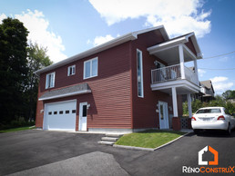Construction Garage Maison - Québec