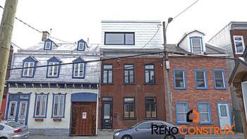 Extension maison toit plat - Québec