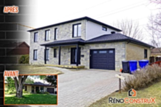 Rénocontrux- ajout d'étage  Ville e Québec