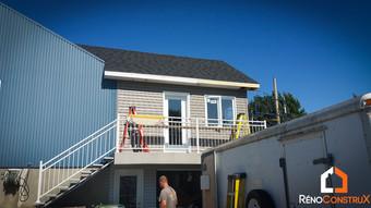 Maison avec agrandissement - Québec