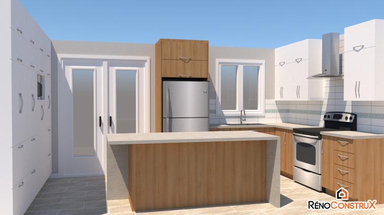 PLANS DE CONSTRUCTION -3D - CUISINE copie.jpgRéno Construx - Agrandissement-chambre - Ville de Québec