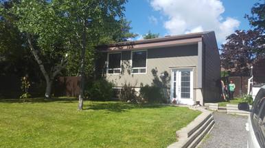 Surélévation étage - Saint-Nicolas, Québec